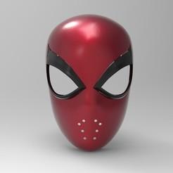 Download 3D printer designs Spider-Man Faceshell (PS4), superior_robin