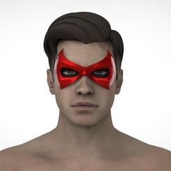 РОБИН2.29.jpg Télécharger fichier STL Le concept du masque à capuche rouge • Modèle pour impression 3D, Superior_Robin