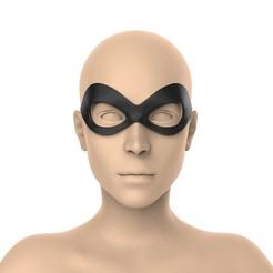 Descargar modelo 3D gratis Máscara de Harley Quinn, Superior_Robin