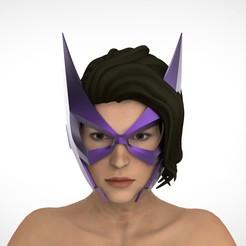 Impresiones 3D Máscara de cazadora, Superior_Robin