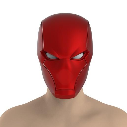 Download 3D printer files Red Hood Helmet, Superior_Robin