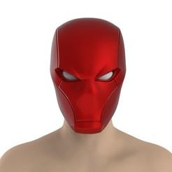 untitled.441.jpg Télécharger fichier STL Casque à capuche rouge • Modèle pour impression 3D, Superior_Robin
