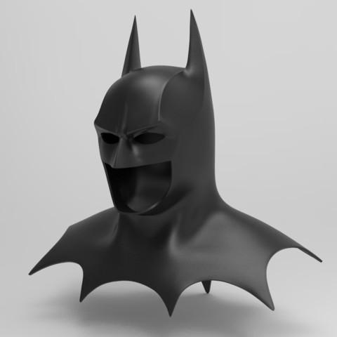 3D printer files Batman Cowl (1989), superior_robin