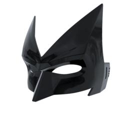 Archivos STL Máscara Batwoman, superior_robin