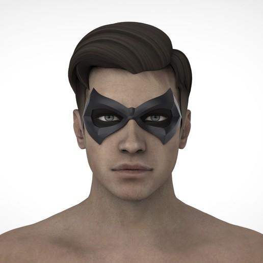 РОБИН2.31.jpg Download STL file Robin mask  • 3D printable object, Superior_Robin