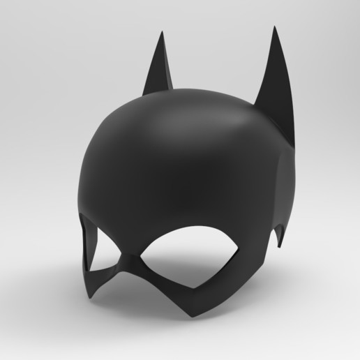untitled.195.jpg Download STL file Batgirl cowl (New 52\Rebirth) • 3D printer object, Superior_Robin