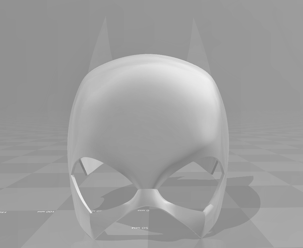 untitled.150.jpg Download STL file Batgirl cowl (New 52\Rebirth) • 3D printer object, Superior_Robin