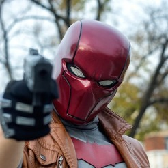 Download 3D printer templates Red Hood Helmet (Rebirth) V 2.0, superior_robin