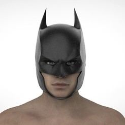 РОБИН2.35.jpg Download STL file Batman Cowl (Arkham Origins) • Model to 3D print, Superior_Robin