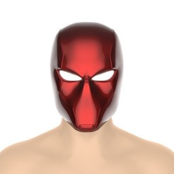 untitled.392.jpg Download STL file Red Hood helmet (Rebirth) comic version  • 3D printer design, Superior_Robin