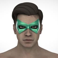 Télécharger objet 3D Masque de la Flèche verte, Superior_Robin
