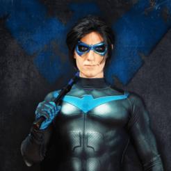 Безымянный.png Télécharger fichier STL gratuit Masque de nuit • Design pour imprimante 3D, Superior_Robin