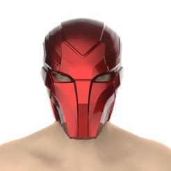 untitled.383.jpg Télécharger fichier STL Casque à capuche rouge ( Injustice 2) • Modèle pour imprimante 3D, Superior_Robin
