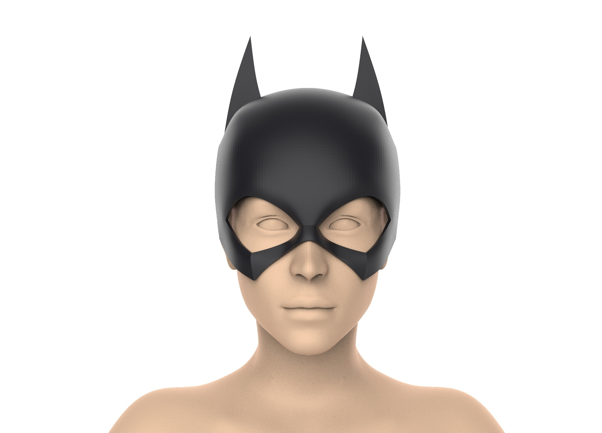 untitled.389.jpg Download STL file Batgirl cowl (New 52\Rebirth) • 3D printer object, Superior_Robin