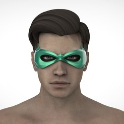 РОБИН2.26.jpg Download STL file Robin mask (Damian Wayne) • 3D printable template, Superior_Robin