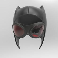"""Télécharger fichier imprimante 3D Capot Catwoman (""""Témoin""""), superior_robin"""