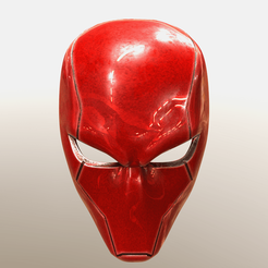 Download 3D printing models Red Hood helmet (Rebirth) comic version , superior_robin