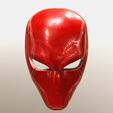 Download 3D printing models Red Hood helmet (Rebirth) comic version , superior_robin