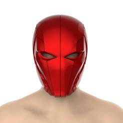 untitled.385.jpg Télécharger fichier STL Casque à capuche rouge ( Injustice 2) • Modèle pour imprimante 3D, Superior_Robin