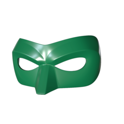 STL file Green Lantern Mask, superior_robin