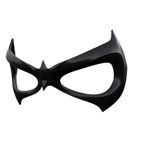 Download free STL files Nightwing mask, Superior_Robin