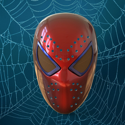 загружено.png Download STL file The Amazing Spider-Man Faceshell  • 3D print object, Superior_Robin
