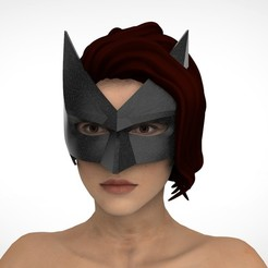 Download STL Batwoman mask , Superior_Robin