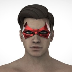 РОБИН2.28.jpg Download STL file Jason Todd mask (Red Hood) • 3D printer object, Superior_Robin
