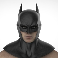 Download 3D printing templates Batman Rebirth cowl, Superior_Robin