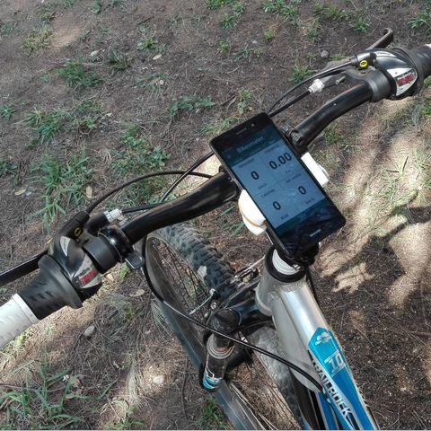 Télécharger fichier 3D Support de vélo pour téléphone intelligent, Angelmax
