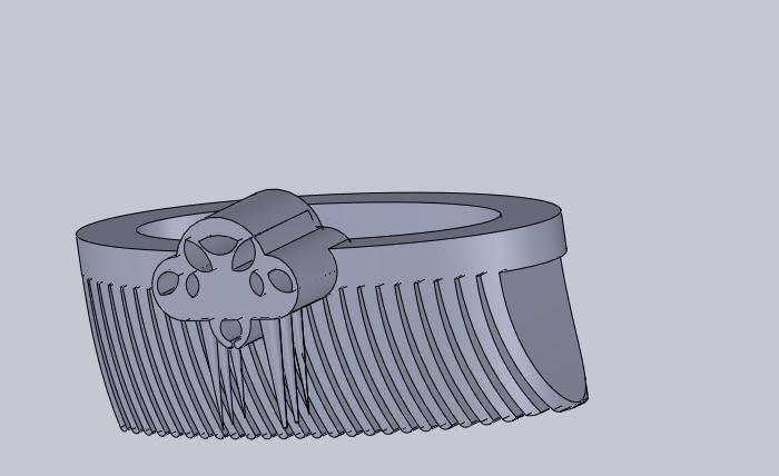 falda.png Download free STL file spider armor • Model to 3D print, izanferrco