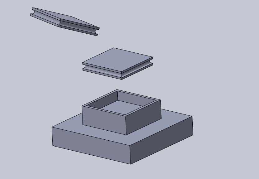 base grande.png Download free STL file base large size (4 squares, or 10 feet) • 3D printing template, izanferrco