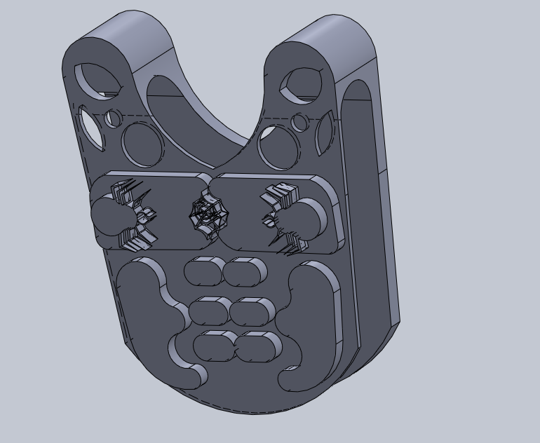 pectoral.png Download free STL file spider armor • Model to 3D print, izanferrco