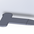 cartas.PNG Download free STL file keychain letter opener • 3D printable template, izanferrco