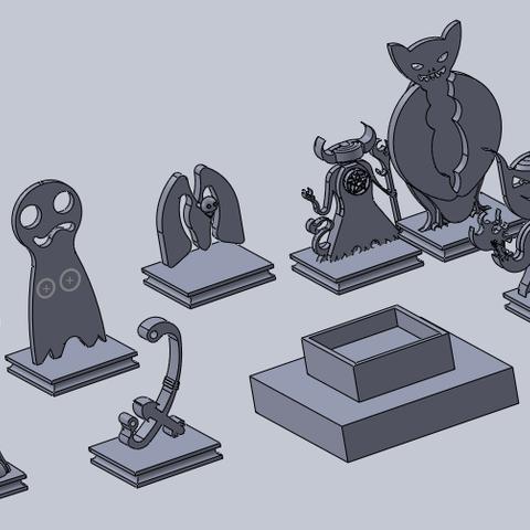 Free 3D printer model pathfinder minis (not base), izanferrco