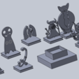 Download free 3D printing templates pathfinder minis (not base), izanferrco