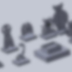Free stl file mini demon (not base), izanferrco