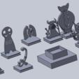 Télécharger fichier 3D gratuit mini-démon (stand non), izanferrco