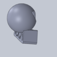 u.png Download free STL file skeleton • Design to 3D print, izanferrco