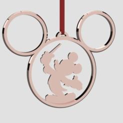 Screenshot 2020-11-18 180803.png Télécharger fichier STL Mickey Mouse Chef d'orchestre Ornement de l'arbre de Noël • Plan à imprimer en 3D, Quesabyte
