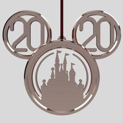 633cbb02-22f9-449f-88d0-25ae5da2175e.jpg Télécharger fichier STL Mickey Head (Château) 2020 • Plan pour impression 3D, Quesabyte