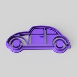 Descargar modelos 3D gratis Cortador de galletas VW Beetle, Quesabyte