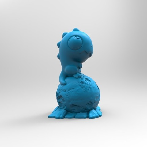 render02.jpg Download free STL file Stratodino • 3D printable model, Inhuman_species