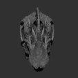 STL files Life size Citipati (Oviraptor) skull and cervical vertebrae, Inhuman_species