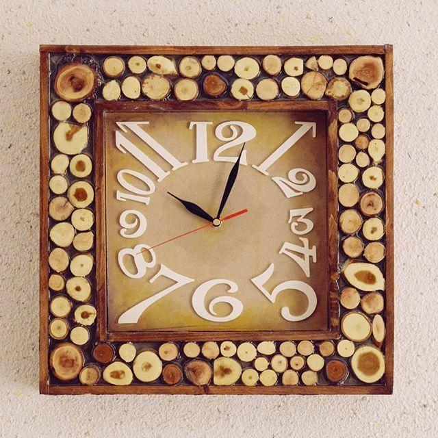 Our Clock.jpg Download STL file Clock Numbers • 3D printer object, svandalk