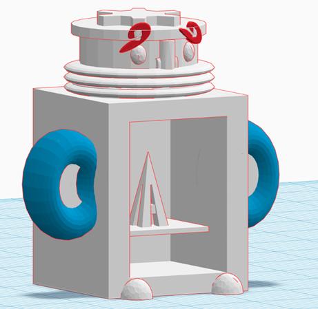 TOM2.png Download free STL file TOM #mascot #Stratomaker • 3D printer design, sofya_3D