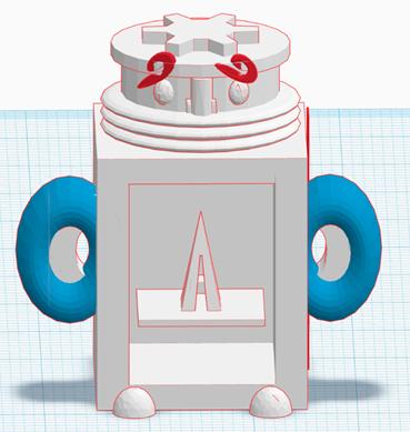 TOM1.png Download free STL file TOM #mascot #Stratomaker • 3D printer design, sofya_3D