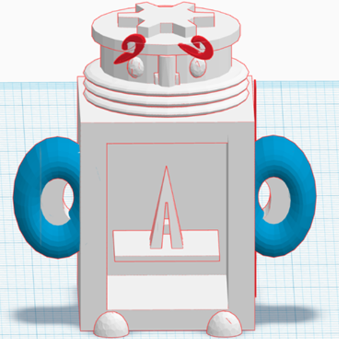 Download free 3D printer model TOM #mascot #Stratomaker, sofya_3D