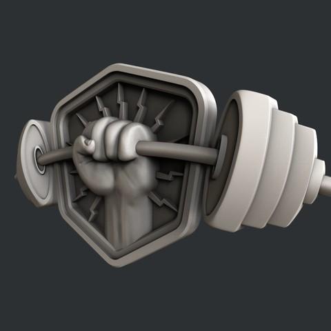 P20-1.jpg Download STL file 3d models barbell • 3D printable model, 3dmodelsByVadim