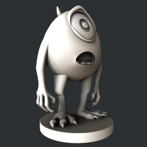 W-1.jpg Download STL file statue animation • Template to 3D print, 3dmodelsByVadim